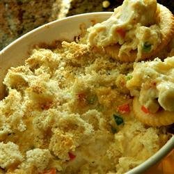 Hot Artichoke and Crab Dip recipe