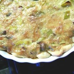 French Leek Pie recipe
