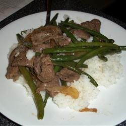 Thit Bo Xao Dau recipe