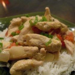 Thai Chicken Curry in Coconut Milk recipe