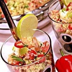 Shrimp Couscous Salad recipe