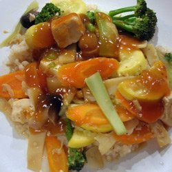 Vegetable and Tofu Stir-fry recipe