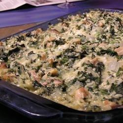 Chicken Florentine Rice Casserole recipe