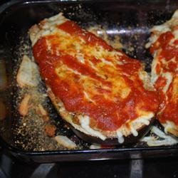 Stuffed Eggplant Parmesan recipe