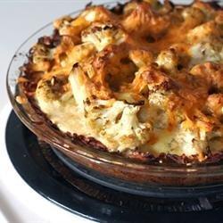 Cauliflower Cheese Pie recipe