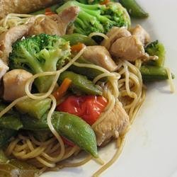 Chinese Noodle Chicken recipe