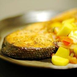Mango Salsa Salmon recipe