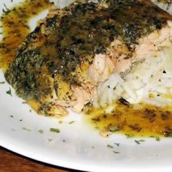 Baked Salmon I recipe