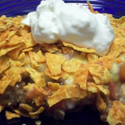 Nacho Chip Casserole recipe