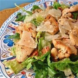 Easy and Fast Cajun Chicken Caesar Salad recipe