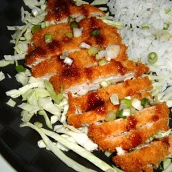 Ashley's Chicken Katsu with Tonkatsu Sauce recipe