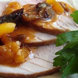 Elegant Pork Loin Roast recipe