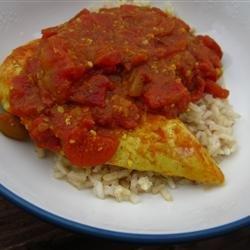 Curried Mango Chicken recipe