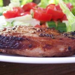Grilled 'Fusion' Pork Chops recipe