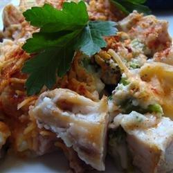 Ham and Chicken Casserole recipe