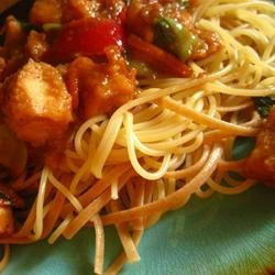 Asian Carryout Noodles recipe