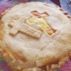 Easter Meat Pie recipe