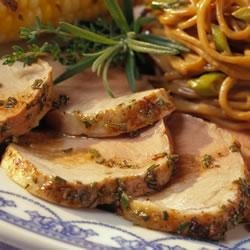 Grilled Pork Tenderloin with Balsamic Vinegar recipe