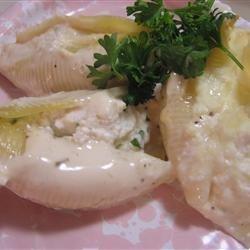 Crab Stuffed Manicotti recipe