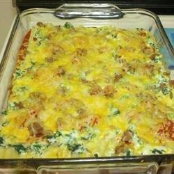 Delicious Spinach and Turkey Lasagna recipe
