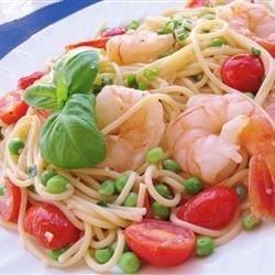 Shrimp and Sugar Snap Peas recipe