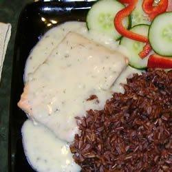 Salmon in Lemon-Dill Sauce recipe