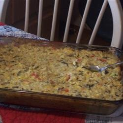 Chicken and Wild Rice Casserole recipe