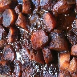 Yummy Candied Yams recipe