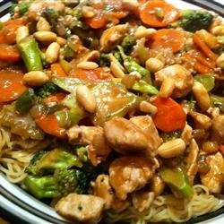 Thai Peanut Noodle Stir-Fry recipe