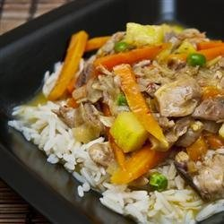 Thai Chicken Curry with Pineapple recipe