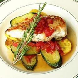 Chicken and Summer Squash recipe