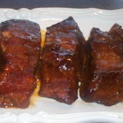 GrannyLin's Barbeque Ribs Made Easy recipe