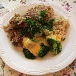 One-Pot Chicken Broccoli in White Wine Sauce recipe