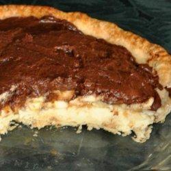 Chocolate Topped Banana Cream Pie recipe