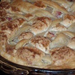 Granny Doria's Rhubarb Pie recipe