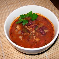 Turkey Chili With Ground Turkey Breast recipe