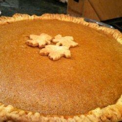 J-Man's Ultimate Pumpkin Pie recipe