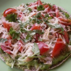 Avocado Chicken Pitas recipe