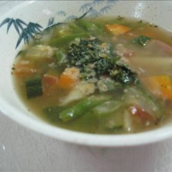 Soupe Au Pistou from Nice recipe