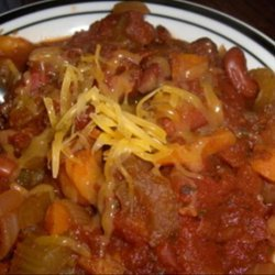 Vegetable Lover's Chili recipe