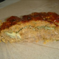 Low Carb Stuffed Meatloaf recipe