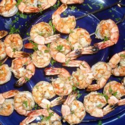 Barbecued Prawns (Shrimp) With Mustard Dipping Sauce recipe