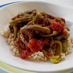 Pepper Steak Strips recipe