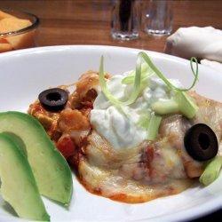 Ham and Egg Enchiladas recipe