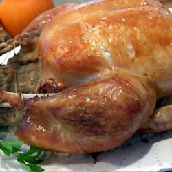 Simple/Easy Stuffed Roast Chicken With Gravy (For Beginners) recipe
