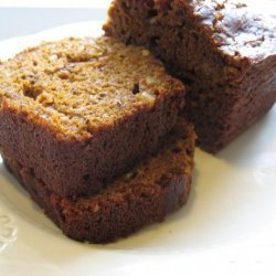 Dark Molasses Pumpkin Bread recipe