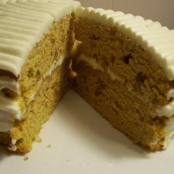 Pumpkin Spice Walnut Cake recipe