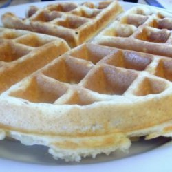 Waffles for Two recipe