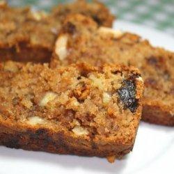 Eggless Date Apple & Walnut Cake recipe