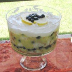 Blueberry Lemon Trifle recipe